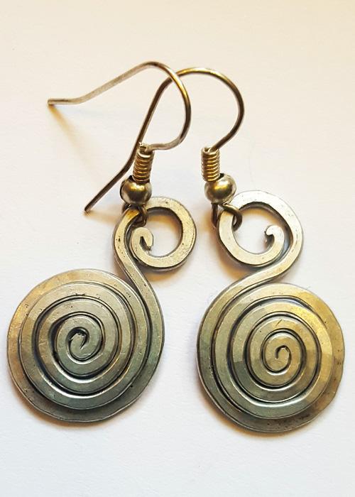 Silber Ohrring